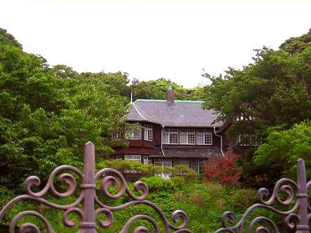 屋敷の風景