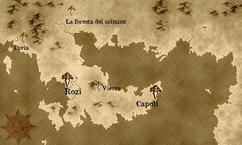 ウィトゥルス半島とその周辺地図