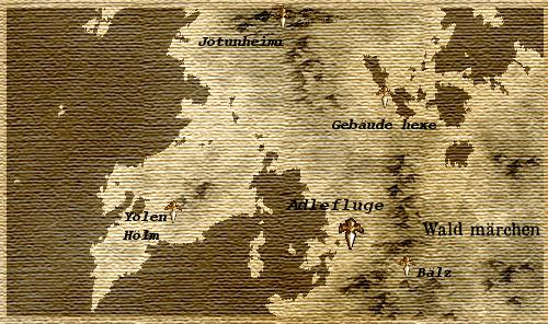 アドラフリューグとその周辺地図