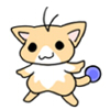 可愛い生き物「星猫」名前は彦星