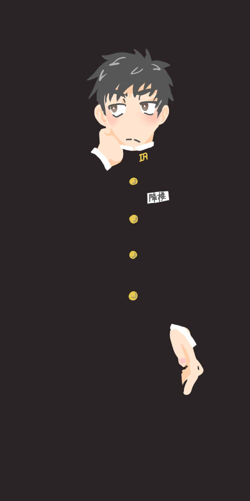 吉広が描いてくれた